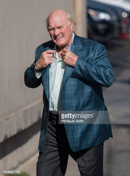 Terry Bradshaw is seen at 'Jimmy Kimmel LIve' on September 07 2018 in Los Angeles California