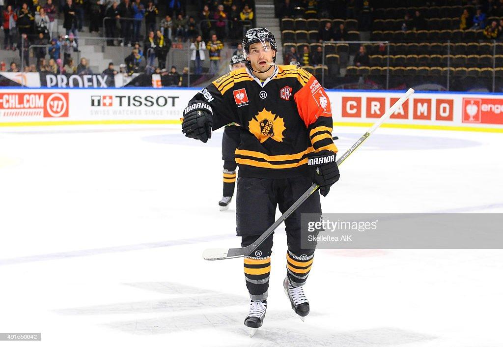 Skelleftea AIK v HC Kosice - Champions Hockey League : News Photo