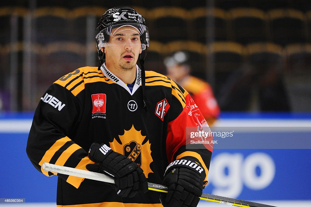Skelleftea AIK v HK Nitra - Champions Hockey League : News Photo