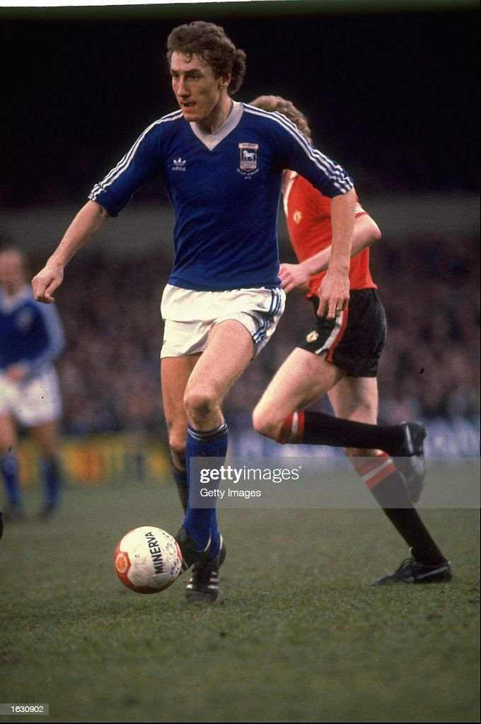 Terry Butcher of Ipswich Town : News Photo