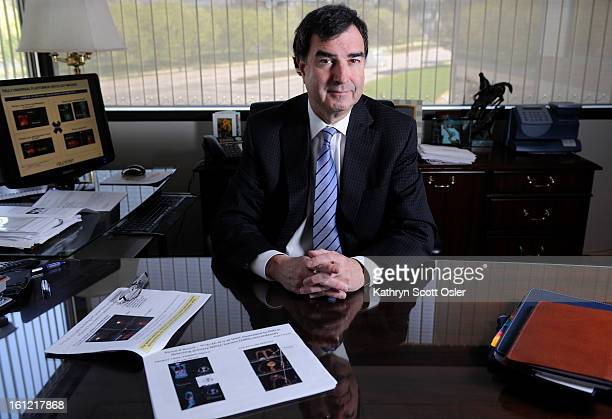 Terry Colip CEO of Cell Point in his offices in Centennial CO on Monday April 16 2012 His company is completing development of universal onclolgy...