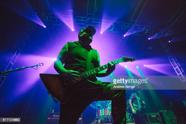 Terry Corso of Alien Ant Farm performs at O2 Academy Leeds on February 11 2018 in Leeds England