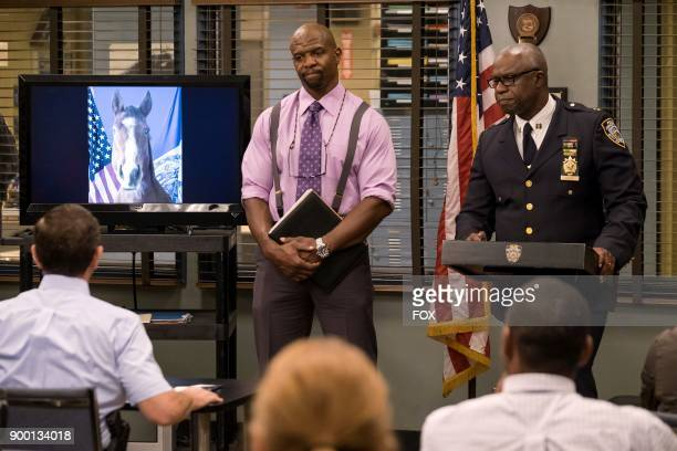 Terry Crews and Andre Braugher in the 'The Venue' episode of BROOKLYN NINENINE airing Tuesday Nov 7 on FOX