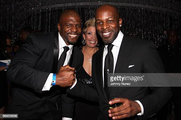 Terry Crews and Joe attend the 3rd annual BET Honors at the Ronald Reagan Building on January 16 2010 in Washington DC