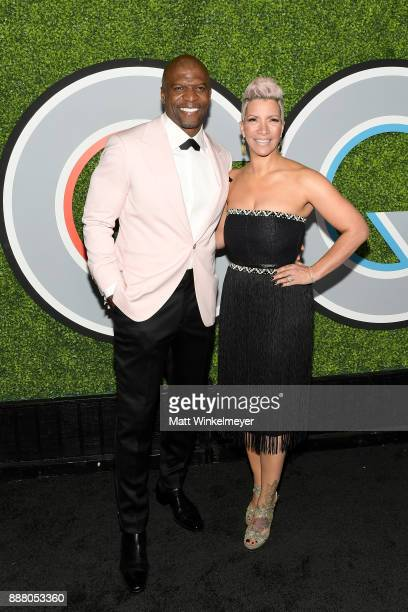 Terry Crews and Rebecca KingCrews attend the 2017 GQ Men of the Year party at Chateau Marmont on December 7 2017 in Los Angeles California
