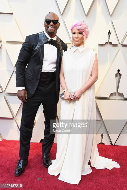 Terry Crews and Rebecca KingCrews attend the 91st Annual Academy Awards at Hollywood and Highland on February 24 2019 in Hollywood California