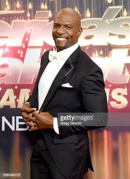 Terry Crews arrives at America's Got Talent The Champions Finale at Pasadena Civic Auditorium on October 17 2018 in Pasadena California