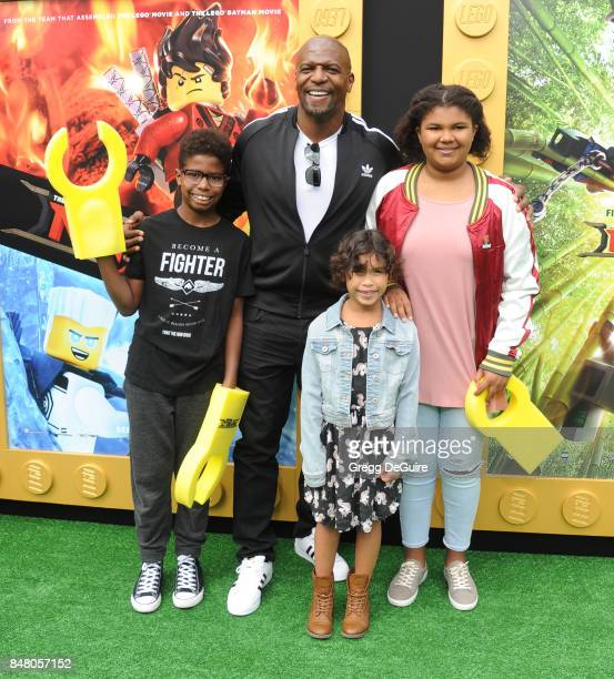 Terry Crews arrives at the premiere of Warner Bros Pictures' 'The LEGO Ninjago Movie' at Regency Village Theatre on September 16 2017 in Westwood...