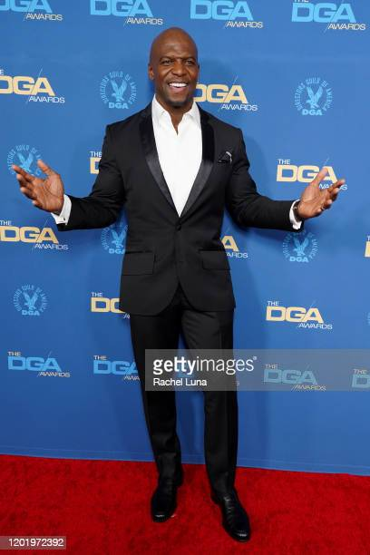 Terry Crews arrives for the 72nd Annual Directors Guild Of America Awards at The Ritz Carlton on January 25 2020 in Los Angeles California