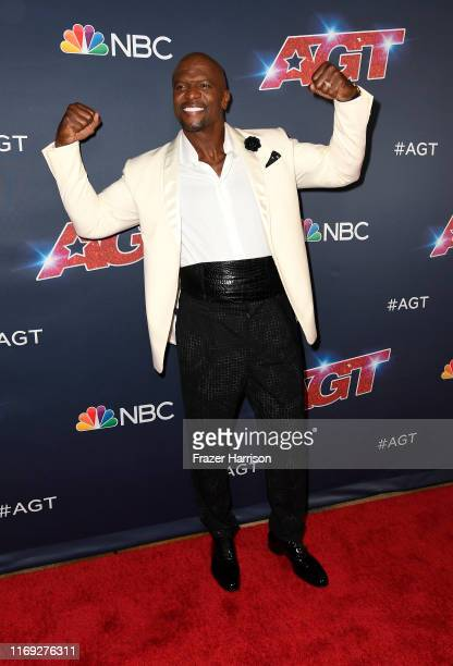Terry Crews attends America's Got Talent Season 14 at Dolby Theatre on August 20 2019 in Hollywood California