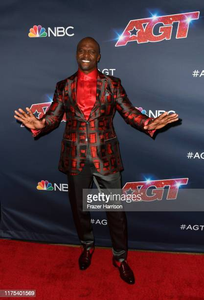 Terry Crews attends America's Got Talent Season 14 Live Show Red Carpet at Dolby Theatre on September 17 2019 in Hollywood California