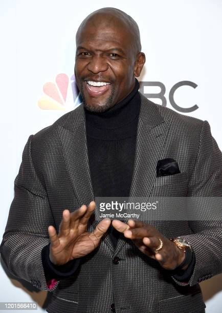 Terry Crews attends NBC and The Cinema Society host a party For the casts of NBC Midseason 2020 at The Rainbow Room on January 23 2020 in New York...