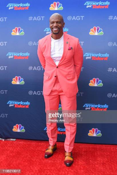 "Terry Crews attends NBC's ""America's Got Talent"" Season 14 Kick-Off at Pasadena Civic Auditorium on March 11, 2019 in Pasadena, California."