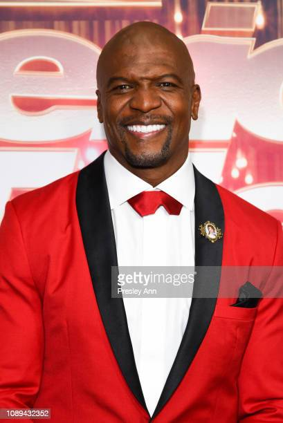Terry Crews attends NBC's America's Got Talent The Champions at Sheraton Pasadena Hotel on October 10 2018 in Pasadena California