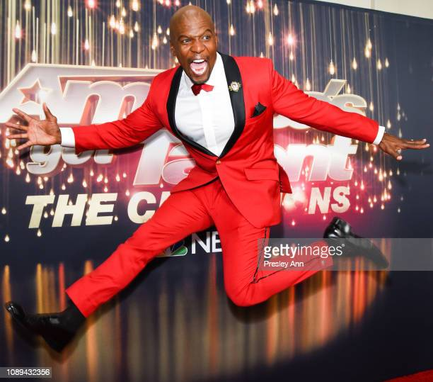 Terry Crews attends NBC's 'America's Got Talent The Champions' at Sheraton Pasadena Hotel on October 10 2018 in Pasadena California
