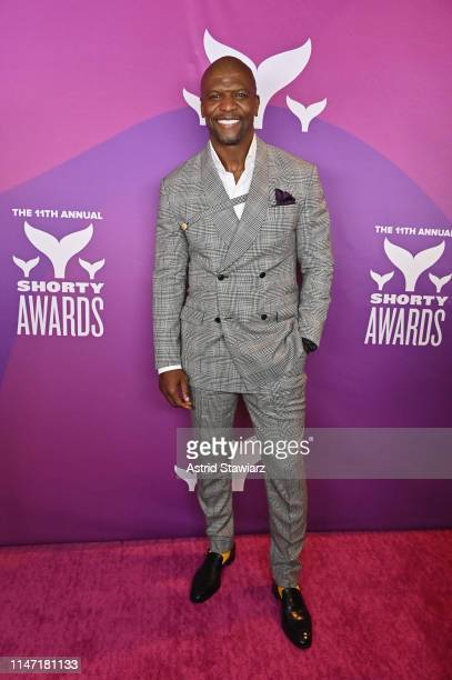 Terry Crews attends the 11th Annual Shorty Awards on May 05, 2019 at PlayStation Theater in New York City.