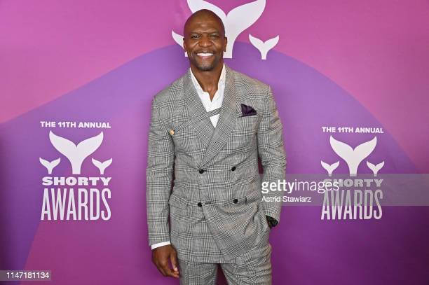 Terry Crews attends the 11th Annual Shorty Awards on May 05 2019 at PlayStation Theater in New York City