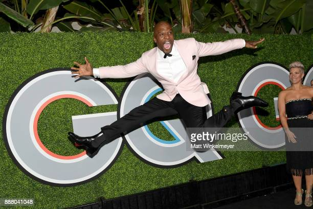 Terry Crews attends the 2017 GQ Men of the Year party at Chateau Marmont on December 7 2017 in Los Angeles California