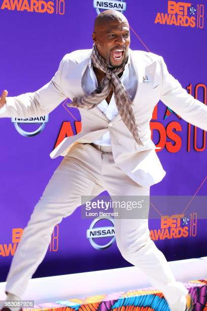 Terry Crews attends the 2018 BET Awards at Microsoft Theater on June 24 2018 in Los Angeles California