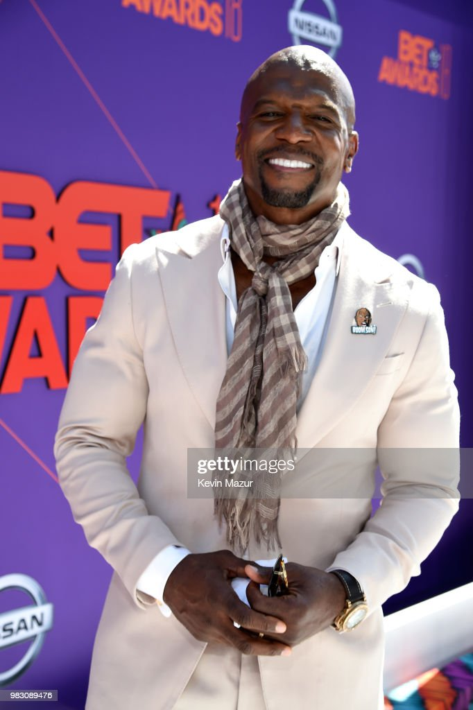 Terry Crews attends the 2018 BET Awards at Microsoft Theater on June 24, 2018 in Los Angeles, California.