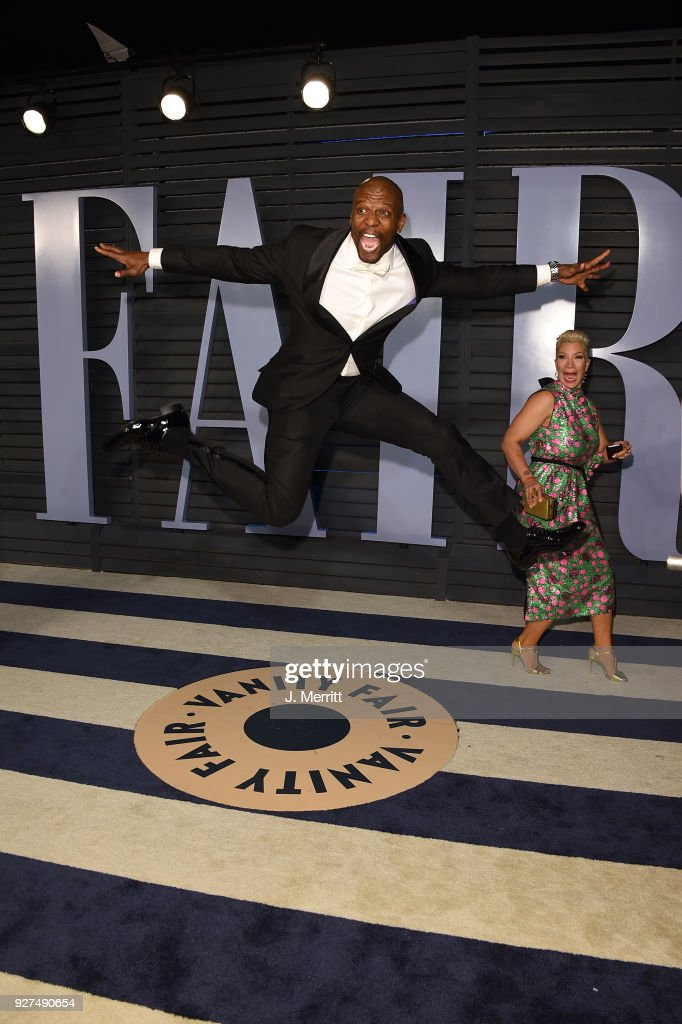 Terry Crews attends the 2018 Vanity Fair Oscar Party hosted by Radhika Jones at the Wallis Annenberg Center for the Performing Arts on March 4, 2018 in Beverly Hills, California.