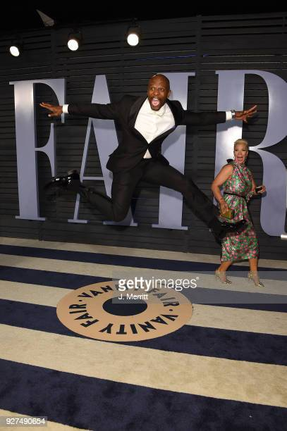 Terry Crews attends the 2018 Vanity Fair Oscar Party hosted by Radhika Jones at the Wallis Annenberg Center for the Performing Arts on March 4 2018...