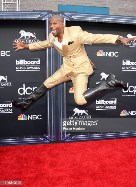 Terry Crews attends the 2019 Billboard Music Awards at MGM Grand Garden Arena on May 01 2019 in Las Vegas Nevada