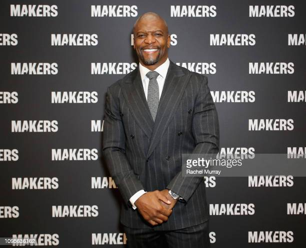 Terry Crews attends The 2019 MAKERS Conference at Monarch Beach Resort on February 8 2019 in Dana Point California
