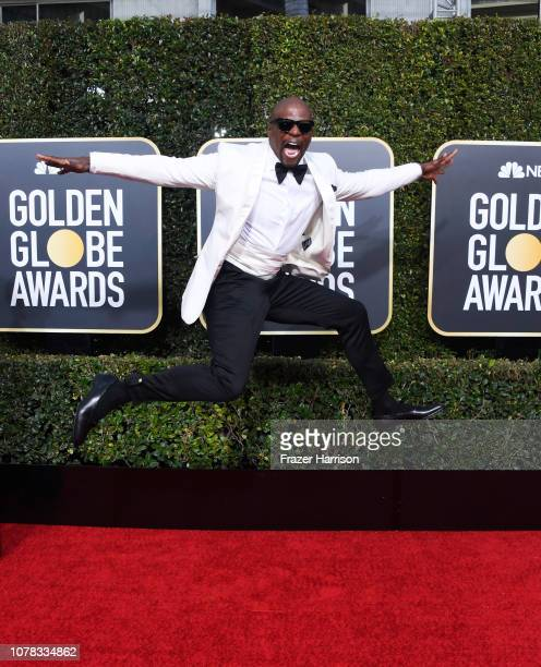 Terry Crews attends the 76th Annual Golden Globe Awards at The Beverly Hilton Hotel on January 6 2019 in Beverly Hills California