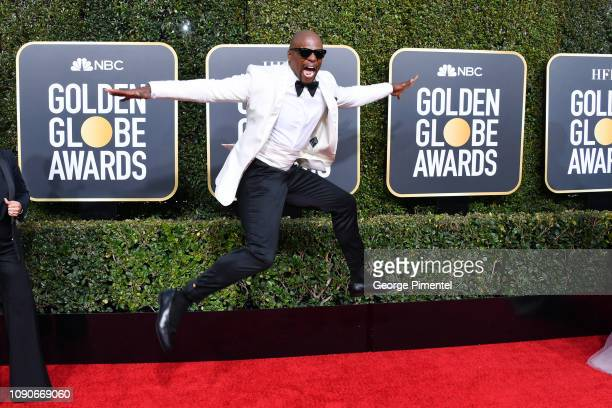 Terry Crews attends the 76th Annual Golden Globe Awards held at The Beverly Hilton Hotel on January 06 2019 in Beverly Hills California