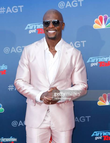 Terry Crews attends the America's Got Talent Season 15 Kickoff at Pasadena Civic Auditorium on March 04 2020 in Pasadena California