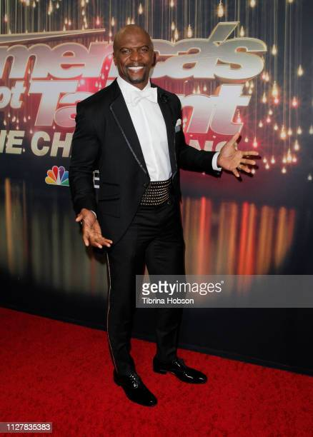 Terry Crews attends the 'America's Got Talent The Champions' Finale at Pasadena Civic Auditorium on October 17 2018 in Pasadena California