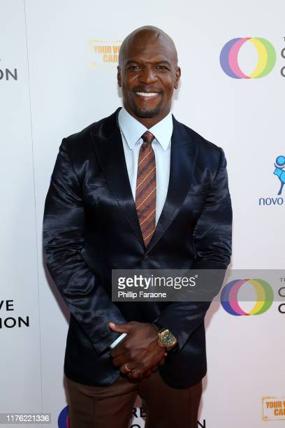 Terry Crews attends the Creative Coalition's Annual Television Humanitarian Awards Gala 2019 at Ocean Prime on September 21 2019 in Beverly Hills...