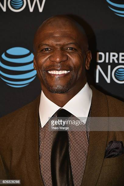 Terry Crews attends the DirectTV Now Launch at Venue 57 on November 28 2016 in New York City