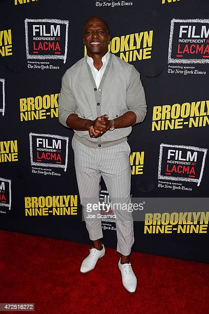 Terry Crews attends the Film Independent Presents An Evening WithBrooklyn NineNine at LACMA on May 7 2015 in Los Angeles California