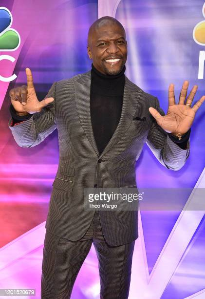 Terry Crews attends the NBC Midseason New York Press Junket at Four Seasons Hotel New York on January 23, 2020 in New York City.