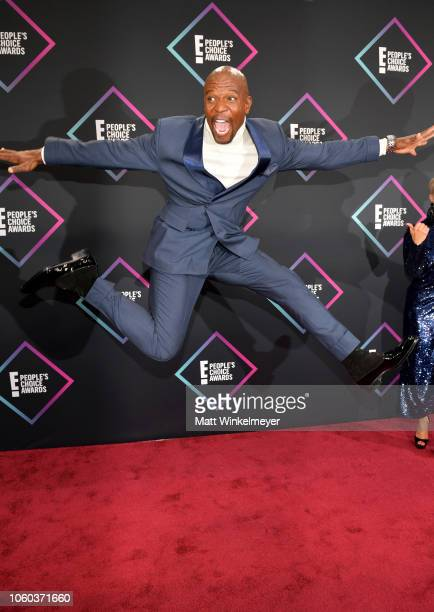 Terry Crews attends the People's Choice Awards 2018 at Barker Hangar on November 11 2018 in Santa Monica California
