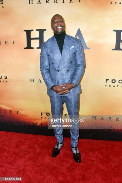 """Terry Crews attends the premiere of Focus Features' """"Harriet"""" at The Orpheum Theatre on October 29, 2019 in Los Angeles, California."""
