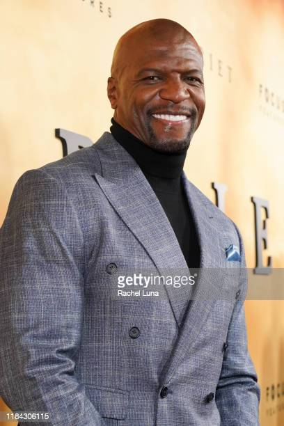 Terry Crews attends the premiere of Focus Features' Harriet at The Orpheum Theatre on October 29 2019 in Los Angeles California