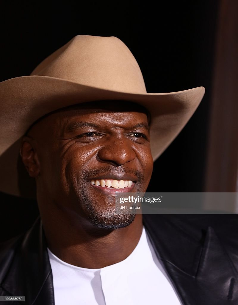 Terry Crews attends the premiere of Netflix's 'The Ridiculous 6' on November 30, 2015 in Universal City, California.