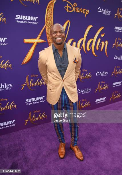 Terry Crews attends the World Premiere of Disney's Aladdin at the El Capitan Theater in Hollywood CA on May 21 in the culmination of the film's Magic...