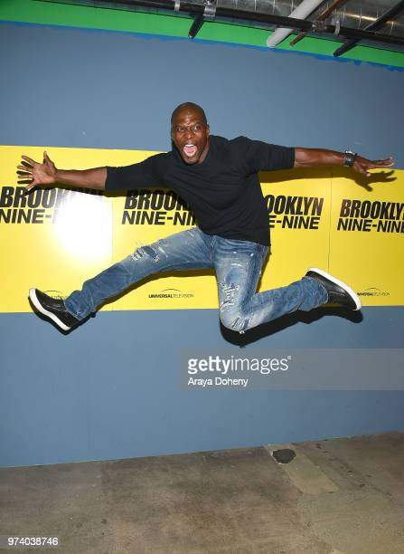 Terry Crews attends Universal Television's FYC @ UCB 'Brooklyn NineNine' at UCB Sunset Theater on June 13 2018 in Los Angeles California