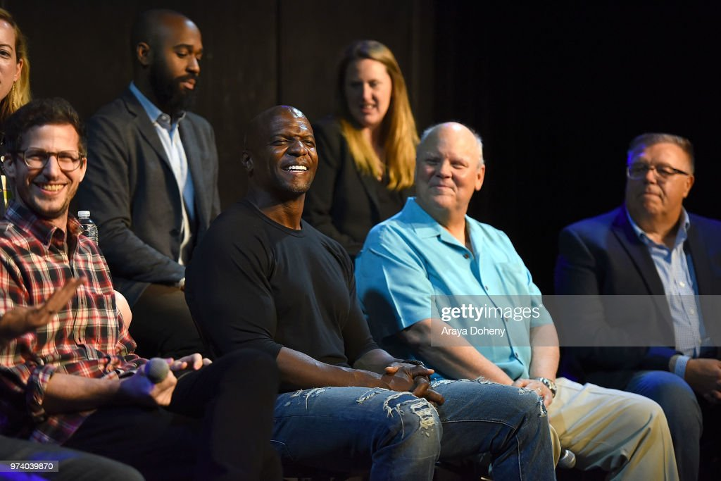 Terry Crews attends Universal Television's FYC @ UCB 'Brooklyn Nine-Nine' at UCB Sunset Theater on June 13, 2018 in Los Angeles, California.