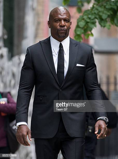 Terry Crews seen on May 17 2016 in New York City
