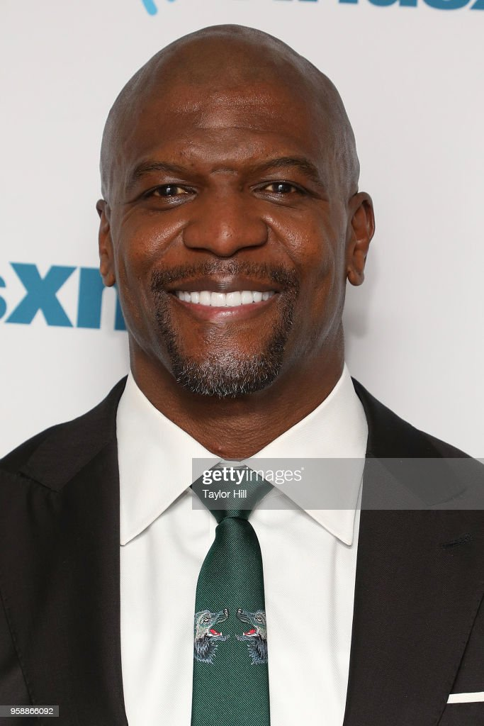 Terry Crews visits the SiriusXM Studios on May 15, 2018 in New York City.