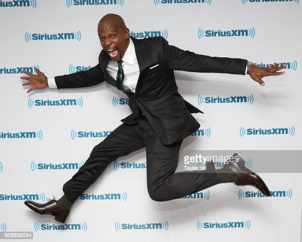 Terry Crews visits the SiriusXM Studios on May 15 2018 in New York City