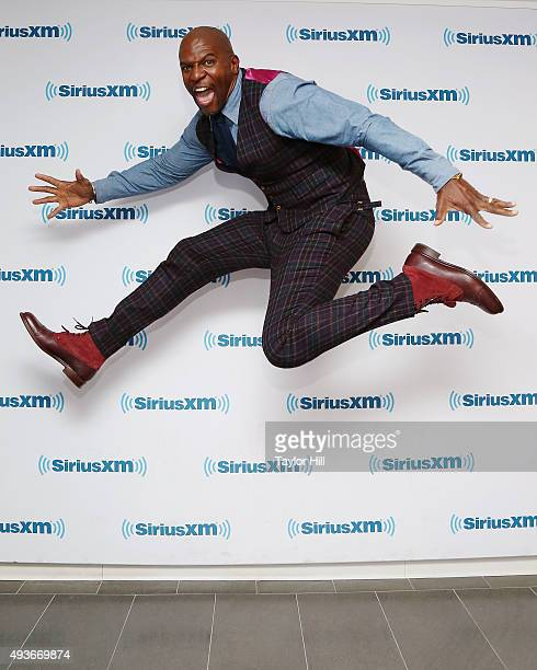 Terry Crews visits the SiriusXM Studios on October 21 2015 in New York City