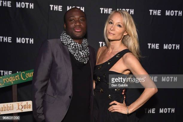 Terry Doe and Indira Cesarine attend The Hatter's Mad Tea Party 2018 Moth Ball at Capitale on June 5 2018 in New York City