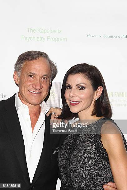 Terry Dubrow and Heather Dubrow attend the 42nd Annual Maple Ball at Montage Hotel on October 26 2016 in Beverly Hills California