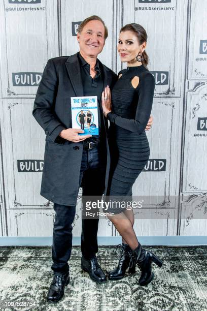Terry Dubrow and Heather Dubrow discuss their book The Dubrow Diet during Build Brunch at Build Studio on January 21 2019 in New York City